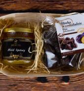 Koszyczek prezentowy – Polskie Smaki ze śliwką w czekoladzie